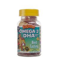 熊宝宝DHA脑黄金鱼油软糖(美国 60粒 补脑益智 孩子最爱吃)